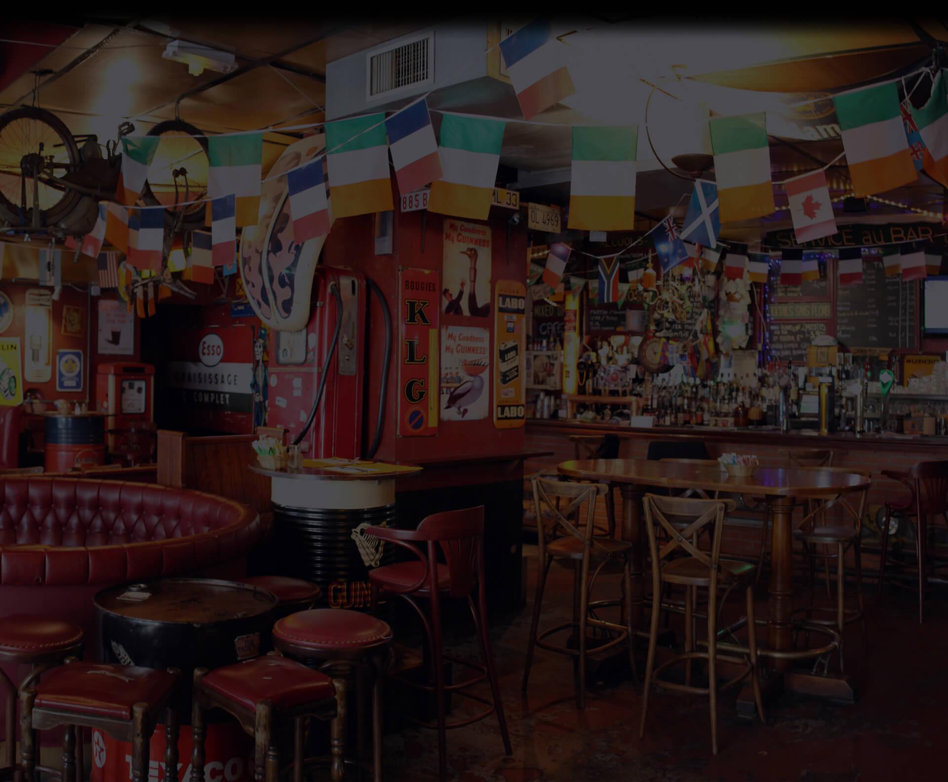 le garage bar pau pub et restaurant irlandais. Black Bedroom Furniture Sets. Home Design Ideas
